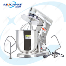 SL-B7/10 Electric Planetary Stand mixer Kitchen With Hook Food Mixer Food Processor Stainless Steel blender mixer Dough Mixer multifunctional electric dough mixer eggs blender 4 2l kitchen stand food milkshake cake dough maker kneading machine 220v 800w