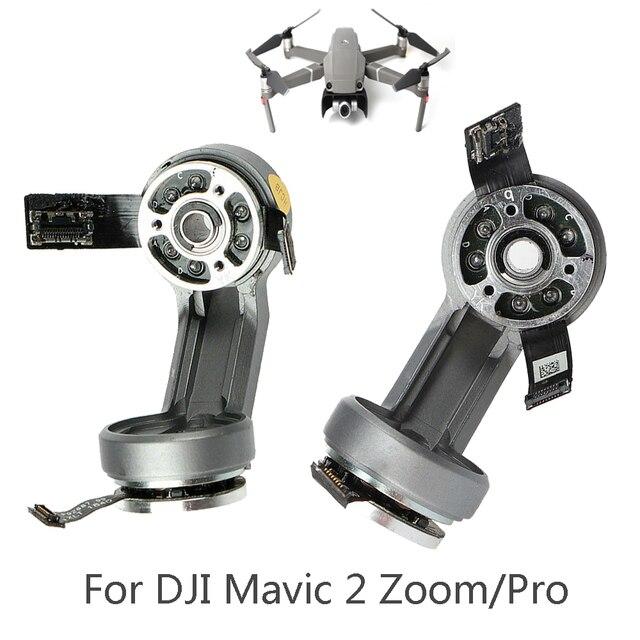 ل DJI Mavic 2 التكبير برو الطائرة بدون طيار Gimbals قطع غيار المحرك اكسسوارات ل Mavic 2 Gimbals كاميرا المحرك مع قوس إصلاح أجزاء