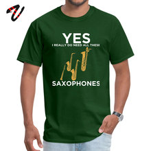 saxophone Normal Top T-shirts for Men Hip Hop Fabric NEW YEAR DAY Tops Shirts Street T Pokemon Go Sleeve Plain O-Neck