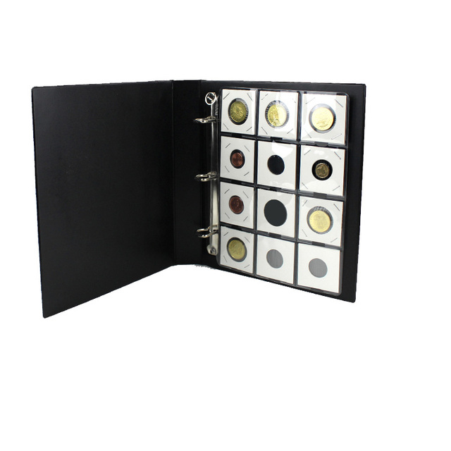 802325 PCCB 12 Cardboard coin holder small album, Replacement Coin