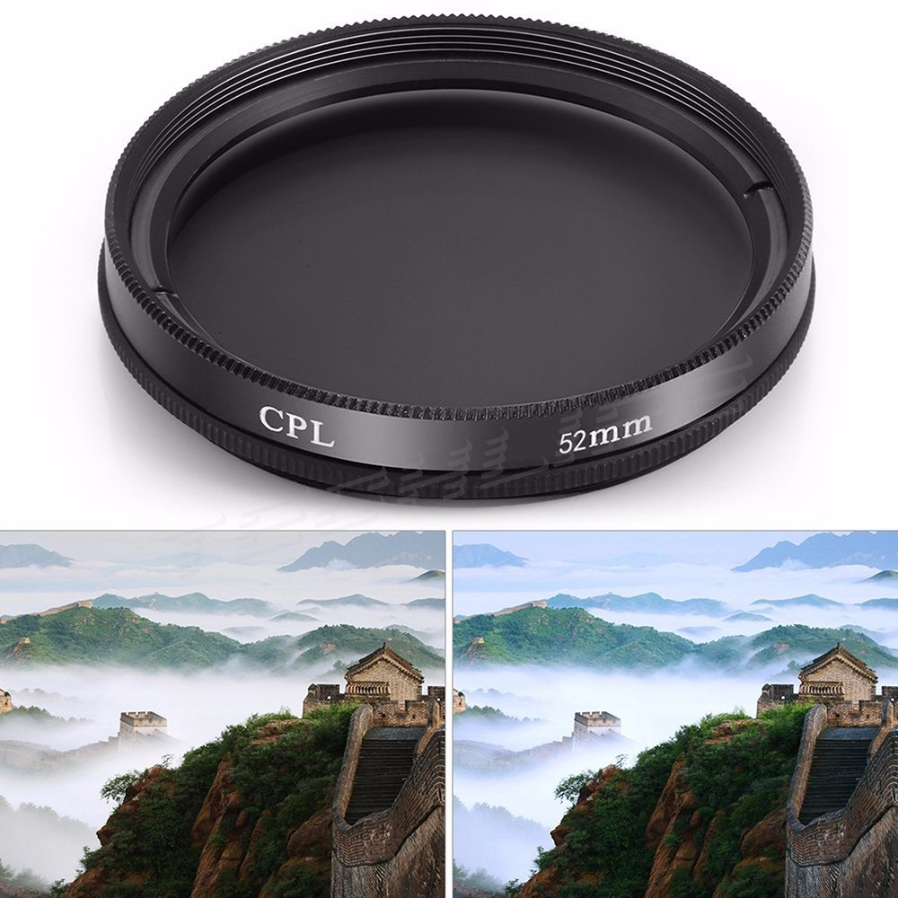 CPL+UV+FLD Lens Filter 52 55 58 62 72 77 mm Kit for Canon EOS 600D 7D Nikon D5300 Sony A7 DSLR Camera Lens with Filter Thread 3