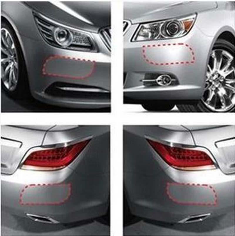 Auto Bumper Transparence Protection Stickers/Car Bumper