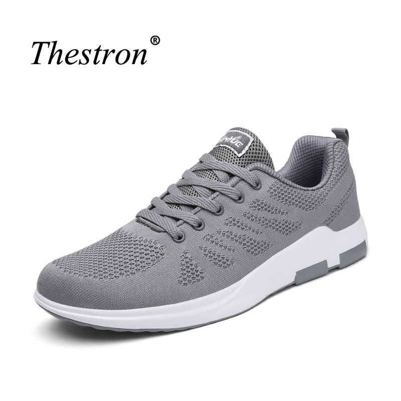 Summer Mens Sneakers Flywire Mans Jogging Trainers Rubber Sole Running Shoes For Men Breathable Male Mesh Sneakers