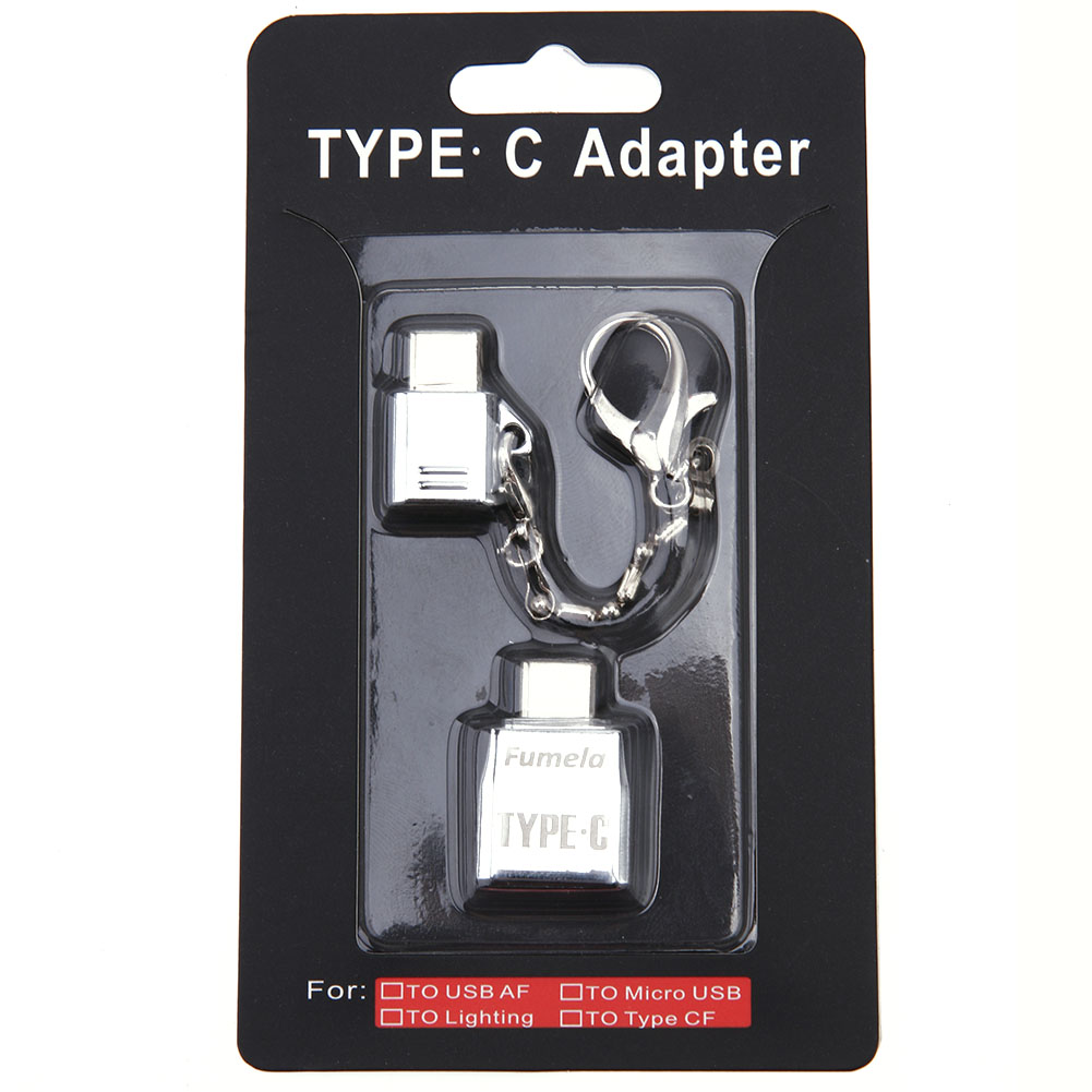 Metal USB Type C Adapter USB OTG Micro USB To Type-C Types Data Snyc For XiaoMi Mi5 HUAWEI P9 Macbook Nexus 5X 6P type c to 8 pin otg type c adapter