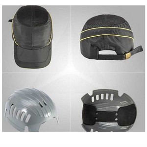 Image 3 - Seasonal Breathable Work Safety Helmet Bump Cap Fashion Casual Security Anti impact Lightweight Helmets Sunscreen Protective Hat