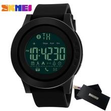 SKMEI Men Smart Watch Bluetooth Calorie Pedometer Multi Functions Sports Watches Men 50M Waterproof Digital Men