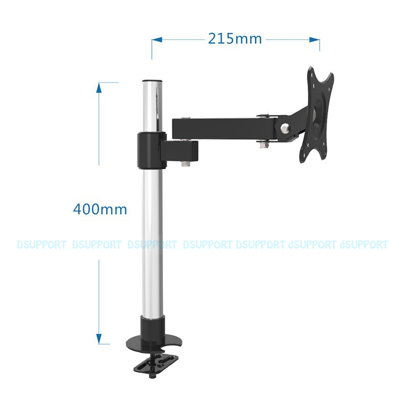 13-27 Desktop LK101/40 LCD TV Mount Table Grommet Monitor Holder Base Stand Mount LK101/40