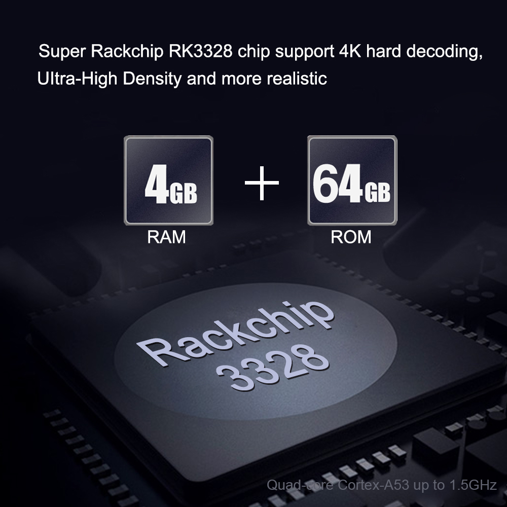 Android 9,0 TV Box 4 GB RAM 64 GB ROM X88 MAX PLUS RK3328 Quad Core TYPE-C 2,4G/ 5 Ghz Dual WiFi BT4.0 4 K Smart Set Top Box PK 8,1 - 3