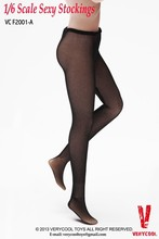 VeryCooL 1/6 Scale Female Sexy Mesh Pants Lace Stockings With Black Accessory For 12″ Action Figure Body Mody Doll