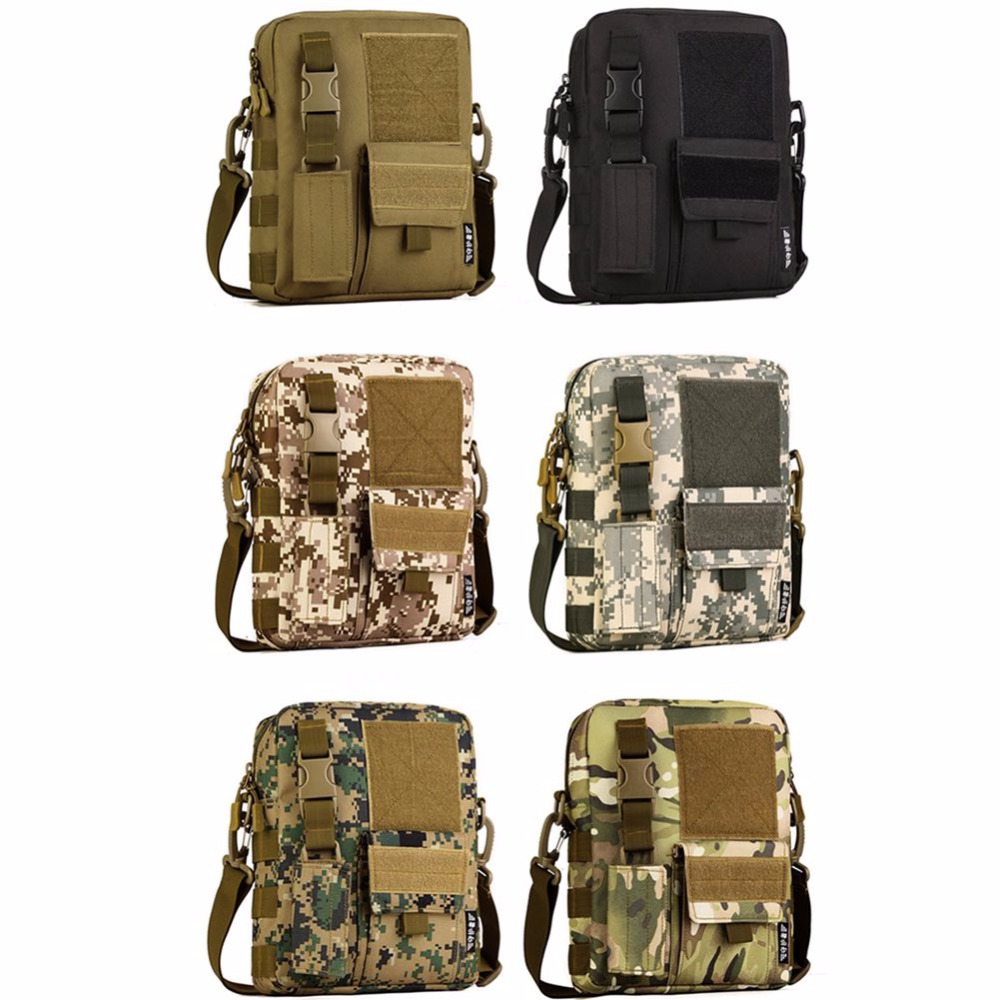 Camping & Hiking Outdoor Anti-tear Military Tactical Camping Shoulder Bag Cross Body Belt Sling Bags Laptop Messenger Backpack High Quality W2 Climbing Bags