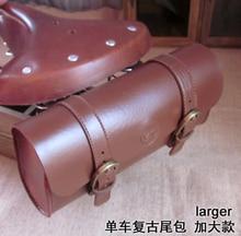 Free shipping TweedRun British retro bicycle riding bike tail bag saddle Bag brown bike bag,bike parts FZB004
