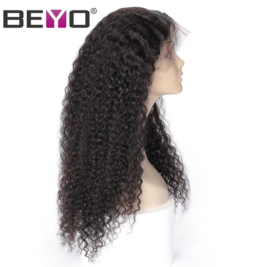 Бразильские глубоко вьющиеся синтетические волосы парики из натуральных волос на кружевной основе 360 парик шнурка предварительно вырезанные Реми кружевные парики 150%/180%/250% фильтр плотности 8-24 дюймов длинные волосы прямые волосы