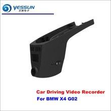 YESSUN Car DVR Camera Driving Video Recorder Dashcam For BMW X4 G02 Dash Camera AUTO Dash CAM Night Vision все цены