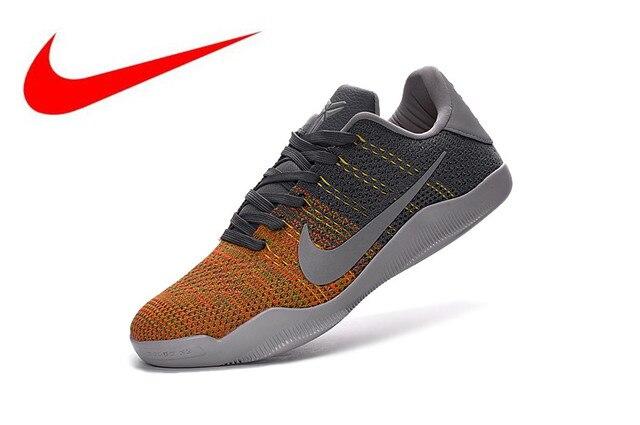 finest selection 4567f f819c Original Nike Kobe 11 Elite Low knit Men s Basketball Shoes,Men s Comfort  Sports Shoes breathable 822522-060