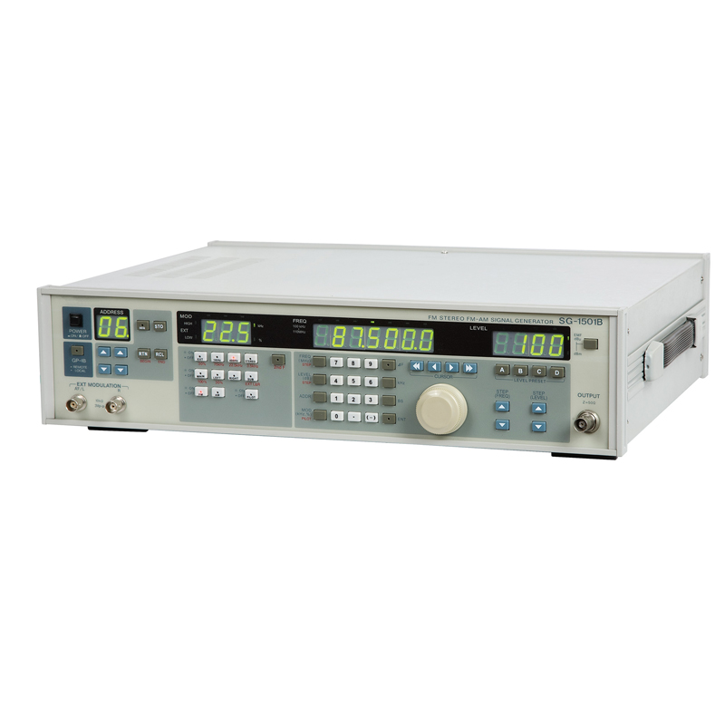 The new SG-1501B digital high frequency signal generator 150MHZ FM AM Standard signal source stereo цены