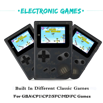 Retro Mini Game Console 32 Bit Pocket Handheld Game Player With 16G Card Built-in 1275 For GBA Classic Games Best Gift For Kids