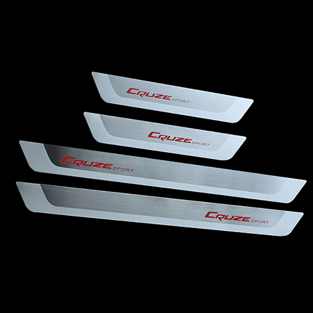 Accessories for Chevrolet Cruze 2009 2015 Stainless Steel Door Sill Strips Welcome Pedal Trim Auto font