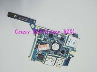 90%new main circuit board motherboard PCB Repair Parts for Samsung GALAXY S4 Zoom SM C101 C101 Mobile phone Len Parts     -