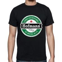 Hofmann LSD Beer Label T-shirt