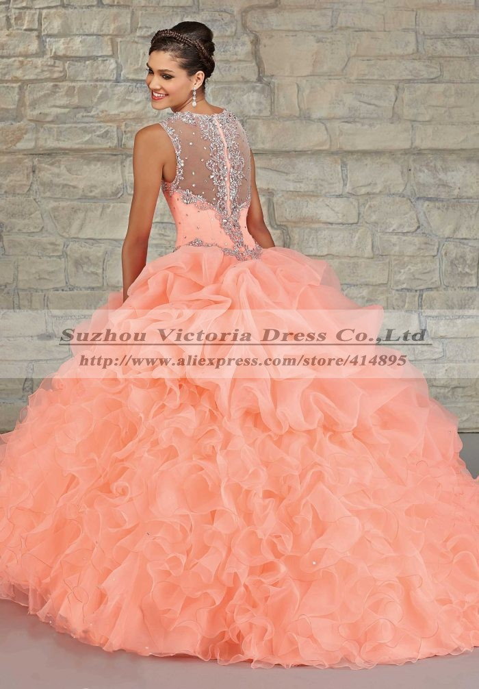 Aliexpress.com : Buy Vestidos De Quinceanera Masquerade Gowns ...
