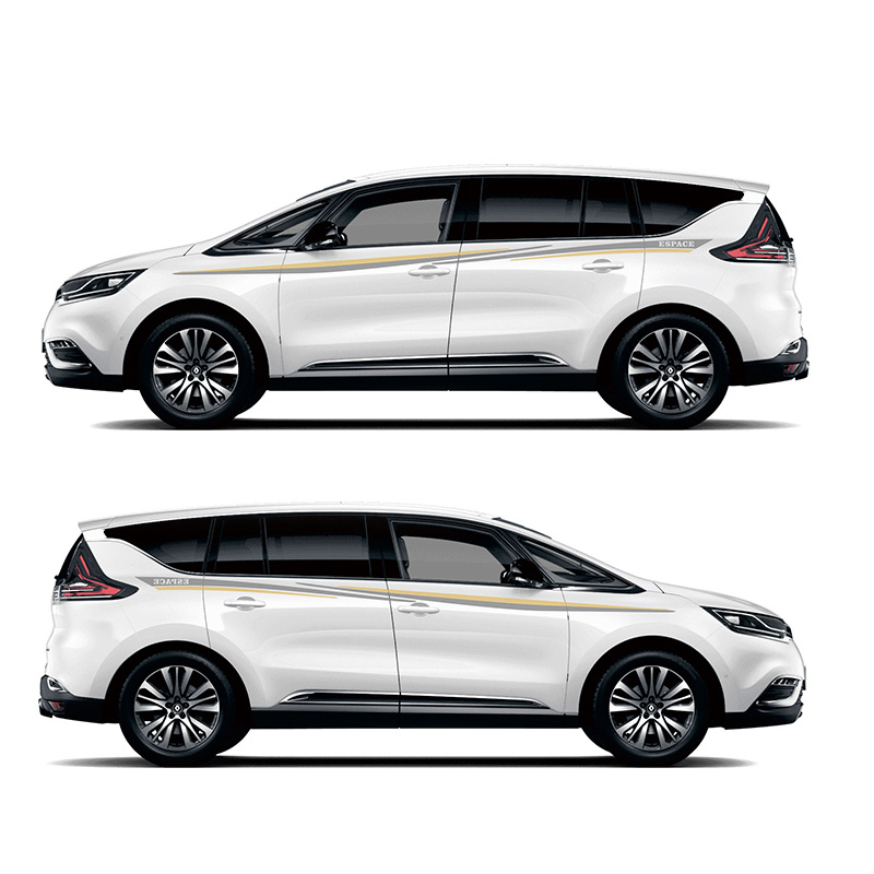 купить TAIYAO car styling sport car sticker For Renault S.A Espace MPV Mark Levinson car accessories and decals auto sticker по цене 2711.64 рублей