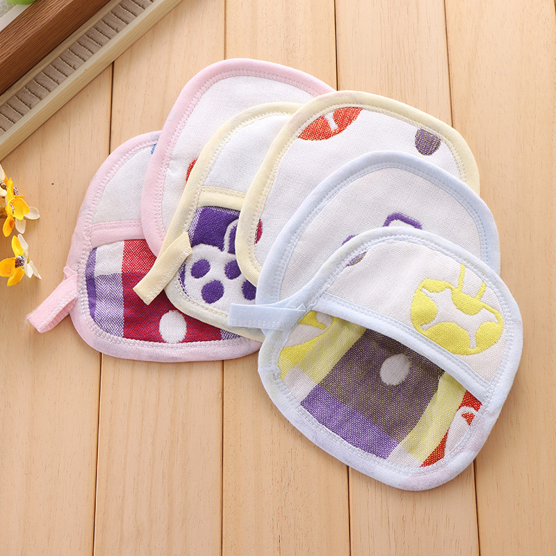 Baby Kid Infant Cartoon Soft Bathing Bathroom Mitt Glove Foam Rub Shower Sponge Exfoliating Wash Cloth Towel Baby Bath Products