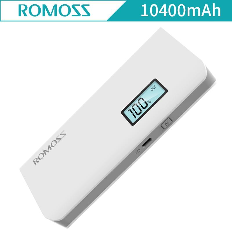 ROMOSS Sense 4Plus Sense 4 Plus 10400mAh External Battery Mobile Phone Power Bank USB port for