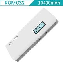 Romoss Sense 4 плюс чувство 4 плюс 10400 мАч внешний Батарея мобильного телефона Мобильные аккумуляторы порт USB для IPhone Зарядное устройство для Android Таблица