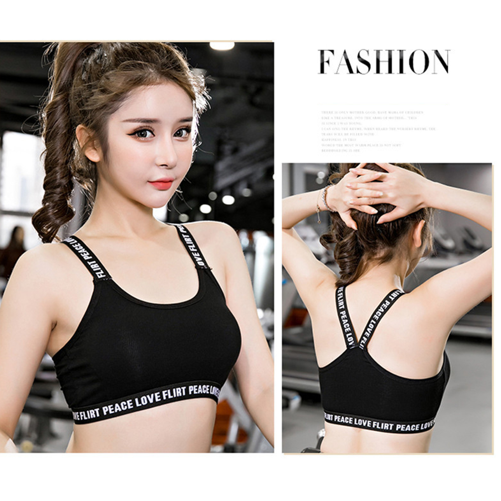 Underwear Sports Bra Girls Top Casual Teens Tube Tops Bikinis Padded Bra Crop