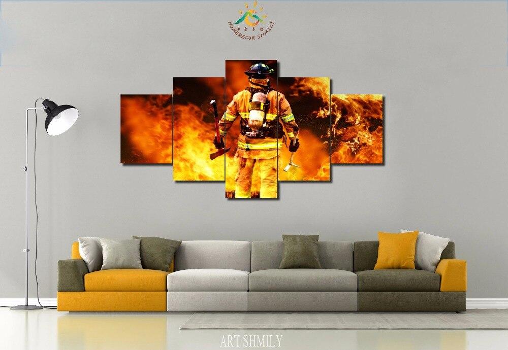 Firefighter Wall Art online get cheap firefighter art -aliexpress | alibaba group