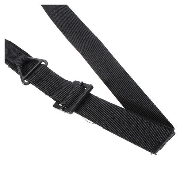 Men Adjustable Survival Emergency Rescue Rigger Tactical Militaria Military Belt Black