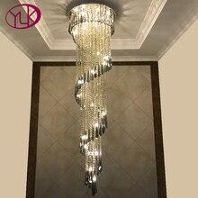 Youlaike plafonnier moderne, Design en spirale, éclairage décoratif, luminaire décoratif dintérieur, gris fumée, gris fumée, escaliers