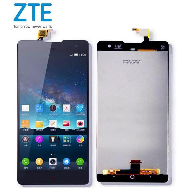 Screen For ZTE Nubia Z7 Max NX505J LCD Display+Touch Screen Screen Digitizer Assembly Replacement For ZTE Nubia Z7 Max Black