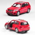 Free Shipping 1:36 Welly Mercedes GLK simulation ran from alloy toy car models for baby gifts
