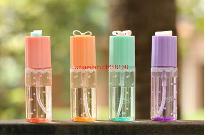 Painstaking Hot 300pcs Bow Cute Transparent Cylindrical Spray Bottle Exquisite Small Makeup Water Fine Fog Spray Bottle Beauty & Health