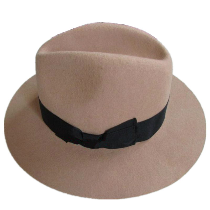 Fashion Brown Young Men or Women Wool Felt Fedora Hat 7cm Wide Brim-in  Fedoras from Apparel Accessories on Aliexpress.com  294bcdc3be6