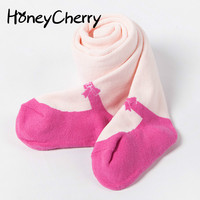 Autumn And Winter Thick Children Baby Pantyhose Girls Terry Towel Warm Leggings Wholesale Tights For Girls