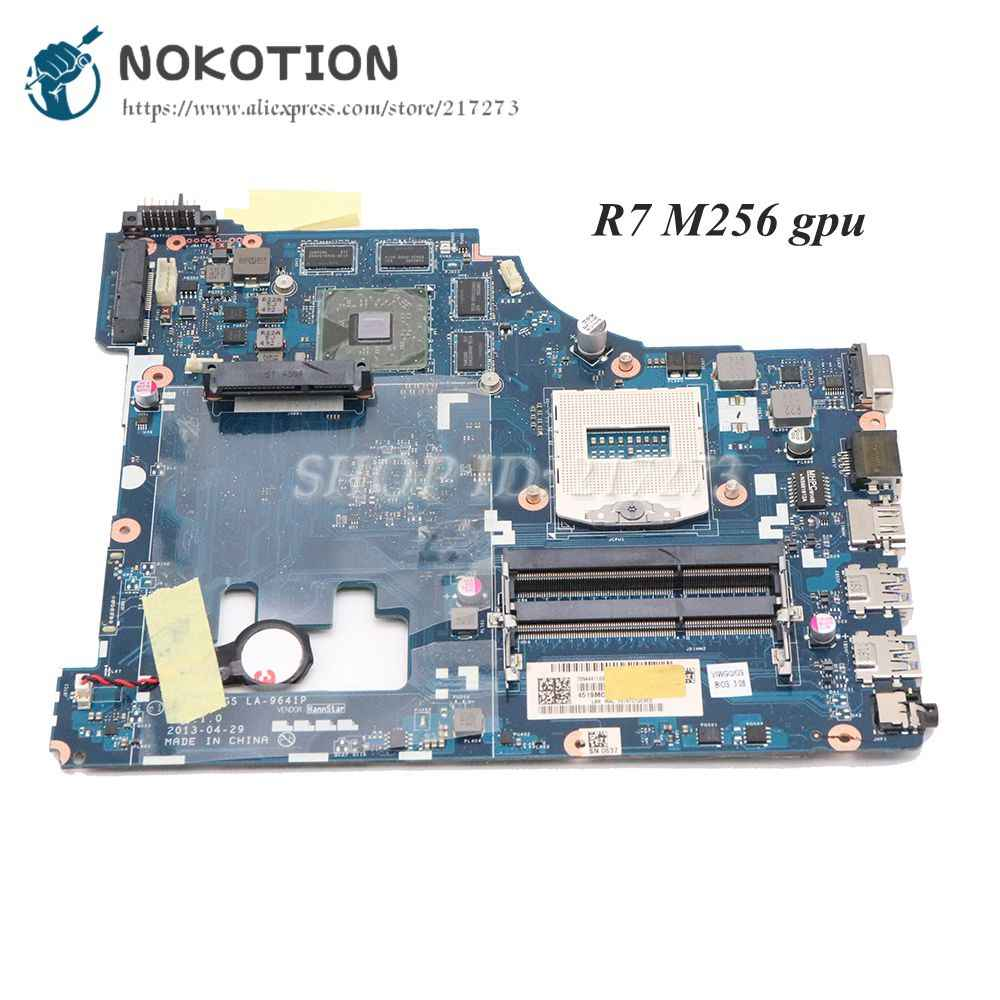 NOKOTION VIWGQ/GS LA-9641P ноутбук материнская плата для Lenovo G510 основная плата HM86 DDR3L R7 M256 видеокарта
