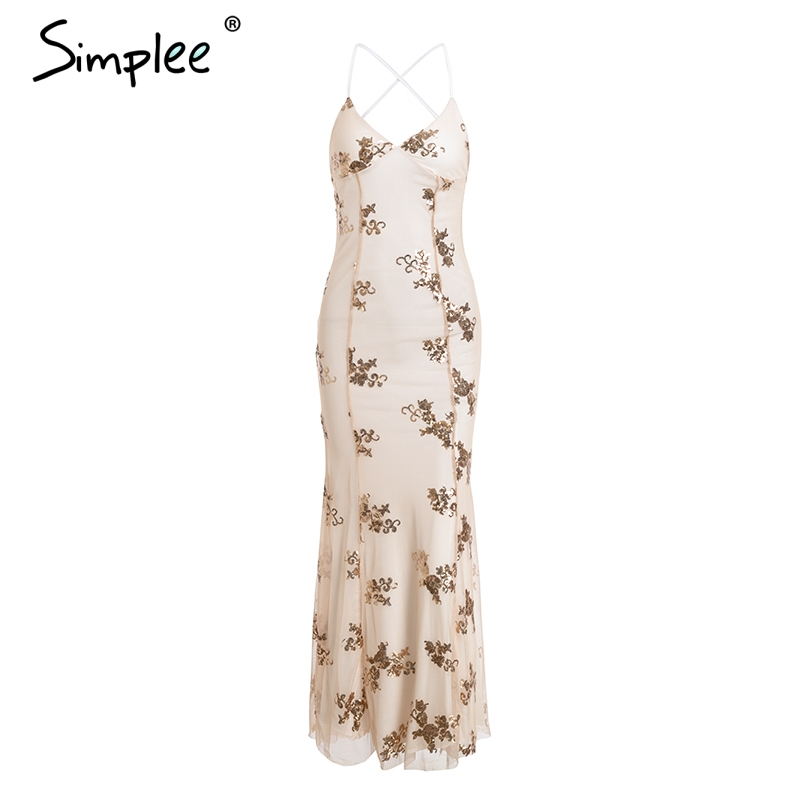 Simplee long party dress 4
