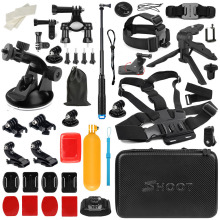 SHOOT Universal Camera Accessory do GoPro Hero 6 5 4 Black Xiaomi Yi Lite 4K SJCAM H9 Go Pro do zestawu Sony Nikon