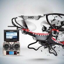 Best seller Envío Gratis H8D 6-Axis Gyro 5.8G FPV RC Quadcopter Drone HD Cámara Con Monitor