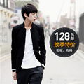 Free Shipping New male men's casual China slim stand collar woolen blazer male chinese tunic suit blazer outerwear new arrival