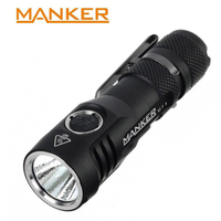 Manker U11 1050 Lumens Cree XPL LED 18650 Flashlight Micro USB Charging Torch USB Rechargeable Flashlights Flash Light 18650