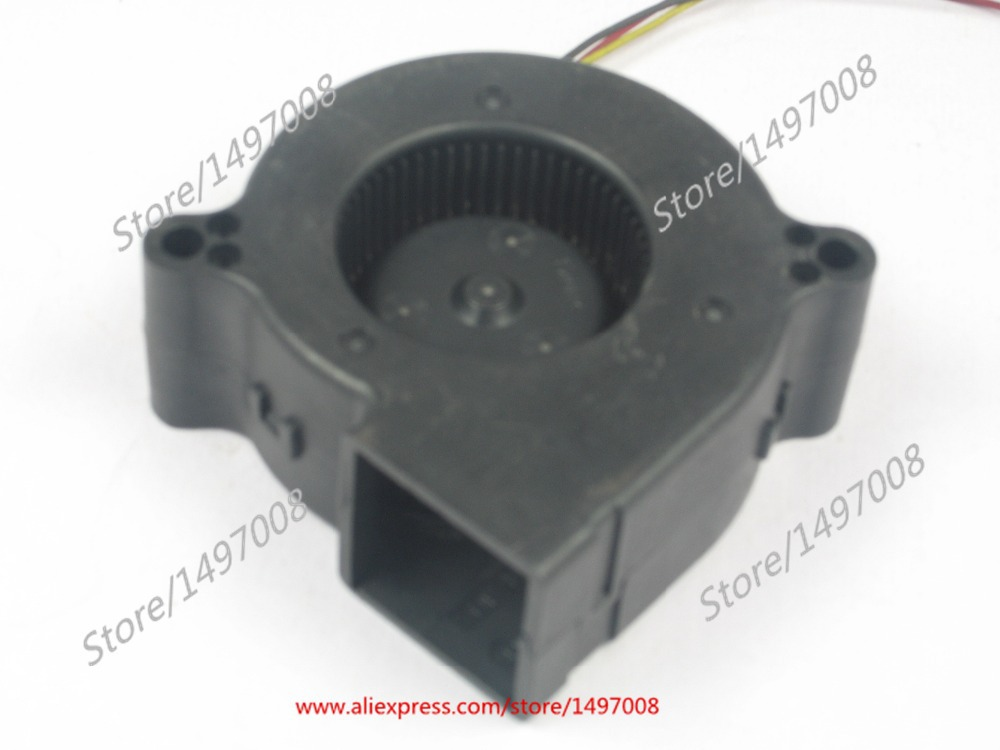 Free Shipping Emacro T0T0  D06F-12B3S1 09B TYF450LJ08  DC 12V 0.33A 3-wire 3-pin connector 50mm 60x60x25mm Server Blower fan free shipping emacro sf7020h12 61as dc 12v 250ma 3 wire 3 pin connector 65mm6 server cooling blower fan