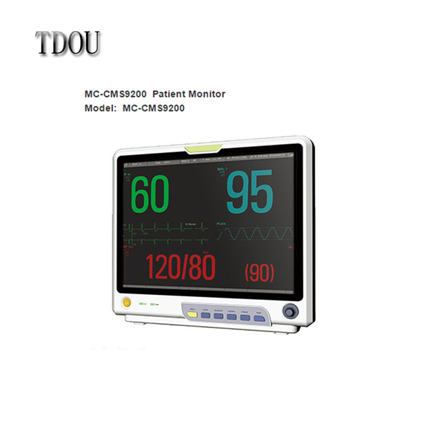 "TDOU 15"" Color TFT LCD Multi-parameter Patient Monitor CE/FDA approved Free Shipping"