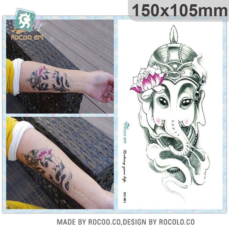 ᓂ2018 tiempo de venta limitada hombres impermeable tatuaje ...
