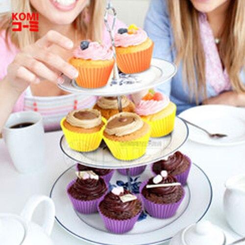 Aliexpress Buy 10pcs Multi Color Silicone Cake Liner Muffin