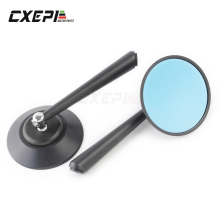 For Kawasaki Z900 Z900RS Z800 Z1000 Motorcycle CNC Aluminum Rear View Mirrors Blue Glass Side Mirror Black Gold Red blue
