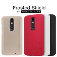 Original Nillkin For Motorola Moto X Force Droid Turbo 2 Case Frosted Shield Cover Shell Hard