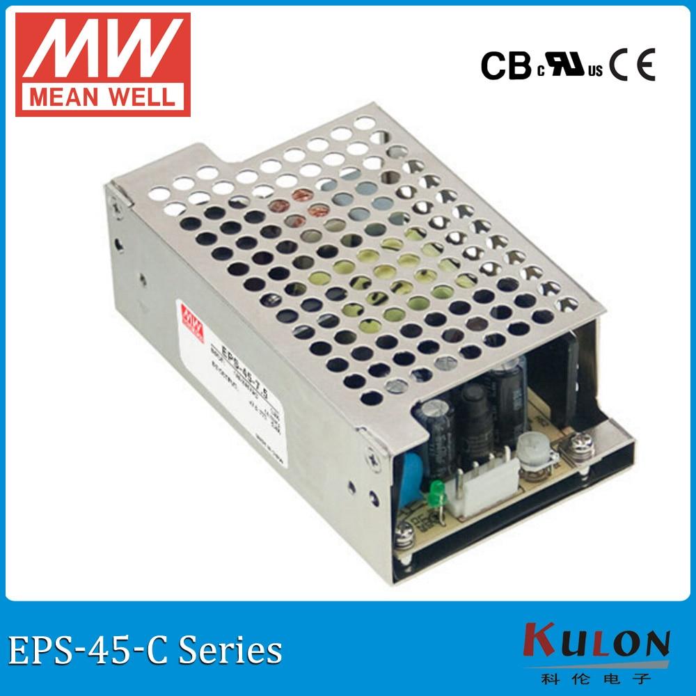 Meanwell EPS-45-C single output PSU ac dc Enclosed Power Supply 35W 3.3V 5V 7.5V 12V 15V 24V 27V 36V 48V 8A 1A 3A mini size meanwell eps 45 c single output psu ac dc enclosed power supply 35w 3 3v 5v 7 5v 12v 15v 24v 27v 36v 48v 8a 1a 3a mini size